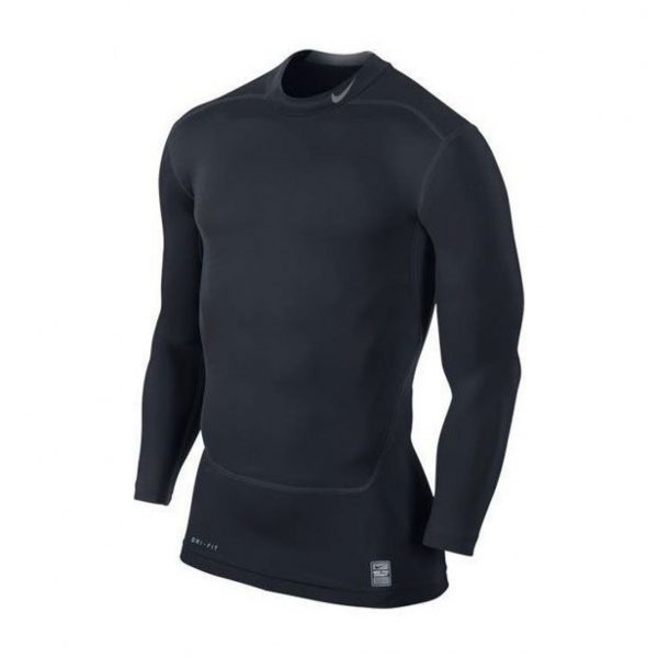 Koszulka z długim rękawem Nike Core Compression Mock 2.0 449795-477 Rozmiar XXL (193cm)