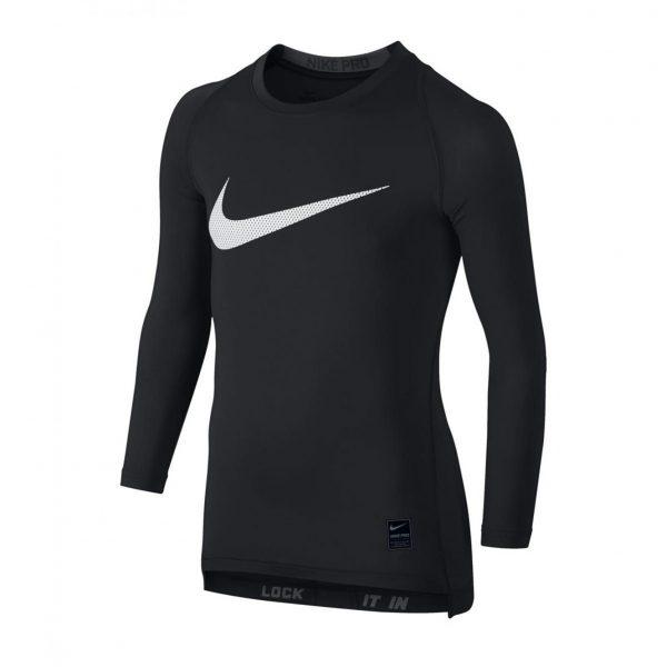 Koszulka z długim rękawem Nike Junior Pro Cool Compression 726460-010 Rozmiar XL (158-170cm)