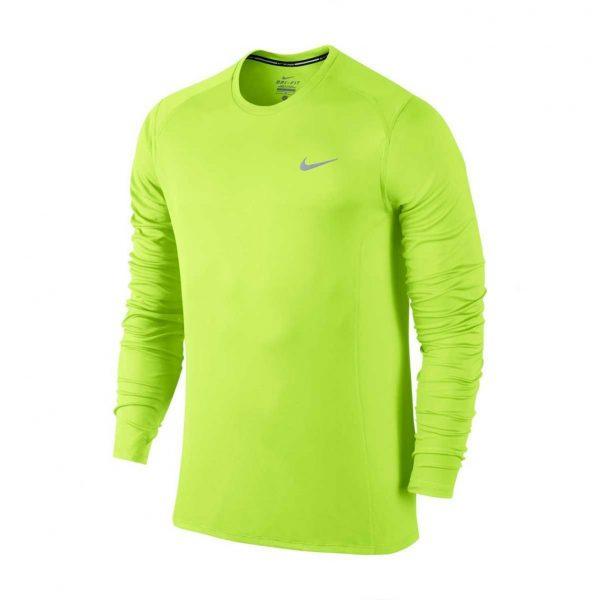 Koszulka z długim rękawem Nike Miler 683570-702 Rozmiar S (173cm)