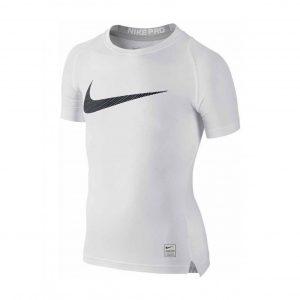 Koszulka z krótkim rękawem Nike Junior Pro Cool Compression 726462-100 Rozmiar M (137-147cm)