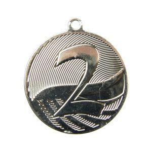 Medal drugie miejsce 50mm srebrny MD1292