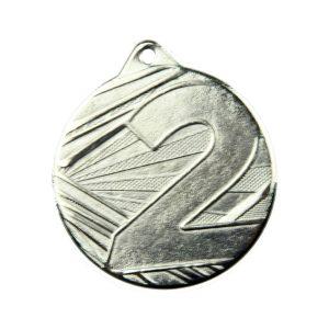 Medal drugie miejsce 50mm srebrny ME005