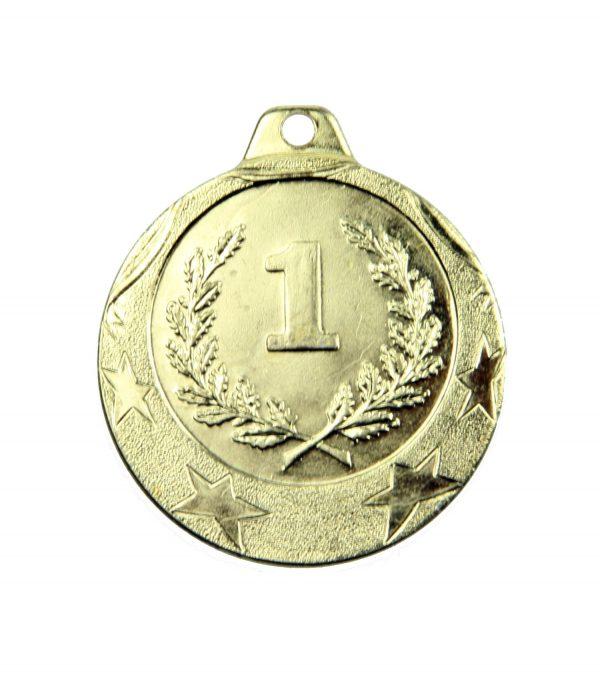 Medal pierwsze miejsce 40mm złoty MED9