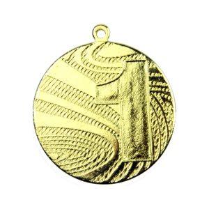 Medal pierwsze miejsce 40mm złoty MMC6040