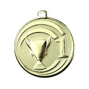 Medal pierwsze miejsce 45mm złoty ME.088