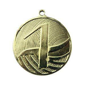 Medal pierwsze miejsce 50mm złoty MD1291