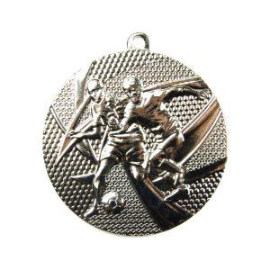 Medal tematyczny piłka nożna 50mm srebrny MMC15050