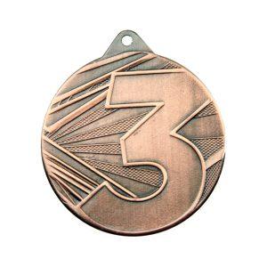 Medal trzecie miejsce 50mm brązowy ME005