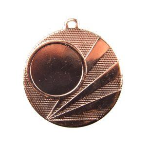 Medal z miejscem na wklejkę 50mm brązowy ME.320
