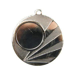 Medal z miejscem na wklejkę 50mm srebrny ME.320