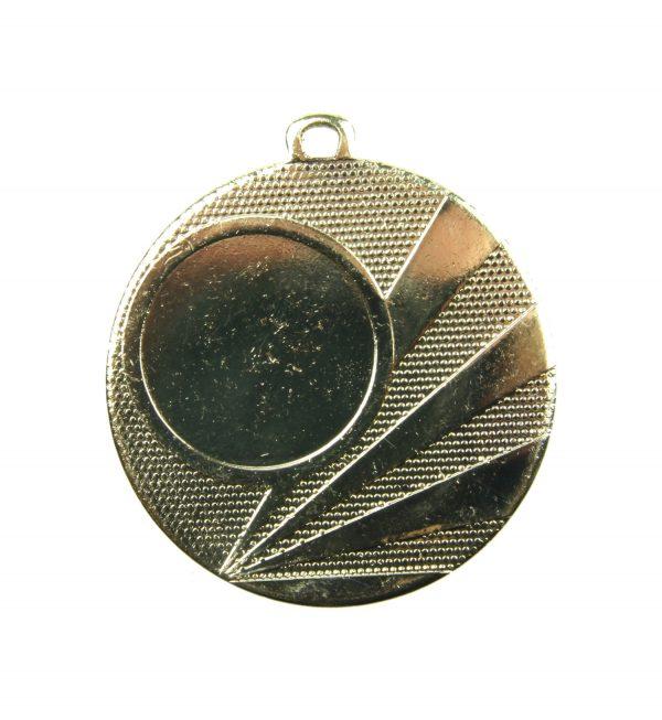 Medal z miejscem na wklejkę 50mm złoty ME.320