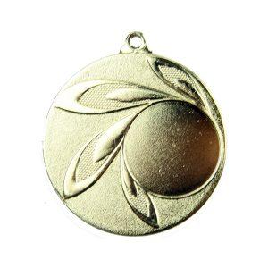 Medal z miejscem na wklejkę 50mm złoty MMC9850
