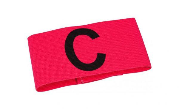 Opaska kapitańska Select różowa mini 11070