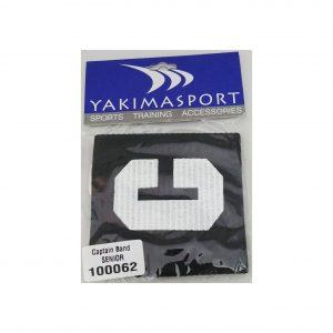 Opaska kapitańska Yakima czarna senior 100062