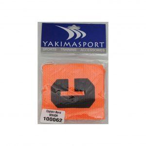 Opaska kapitańska Yakima pomarańczowa senior 100062