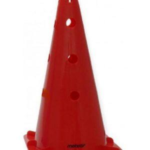 Pachołek Meteor 46cm z otworami czerwony 29210