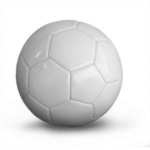 Piłka All White Yakima 100303 rozmiar 5 Rozmiar 5