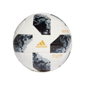 Piłka adidas Telstar 18 World Cup Junior 290g CE8147 Rozmiar Junior 290g r.4