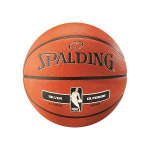 Piłka do koszykówki SPALDING SILVER NBA OUTDOOR 6 Rozmiar 6