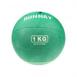 Piłka lekarska 1 kg Ronnay 135510 - przybrudzona