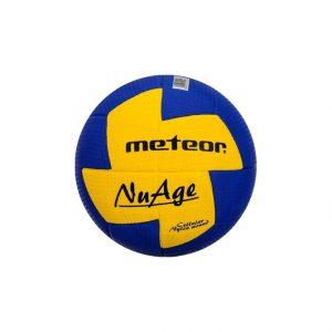 Piłka ręczna Meteor Nuage Junior niebiesko-żółta 04063 r 1 Rozmiar 1