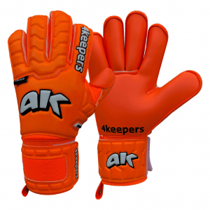 Rękawice 4keepers Champ Colour Orange IV RF Rozmiar 8