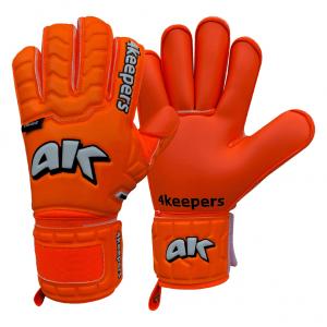 Rękawice 4keepers Junior Champ Colour Orange IV RF Rozmiar 4