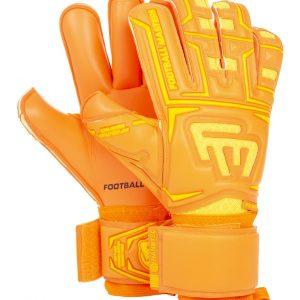 Rękawice Football Masters Junior Clima Orange Contact Grip RF v 3.0 Rozmiar 6