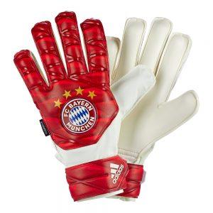 Rękawice adidas Junior Bayern Monachium Top Training DY7098 Rozmiar 3