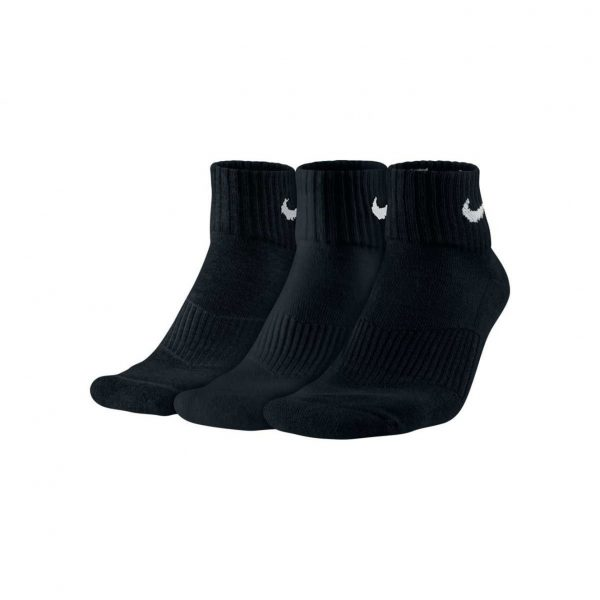 Skarpety Nike Cushion Quarter 3-pack SX4703-001 Rozmiar L: 42-46