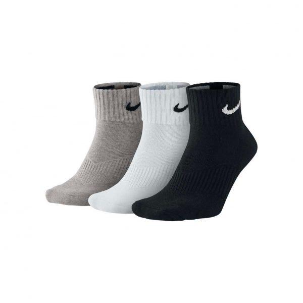 Skarpety Nike Cushion Quarter 3-pack SX4703-901 Rozmiar S: 34-38