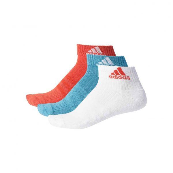 Skarpety adidas Performance Ankle 3-pack BS1731 Rozmiar 23-26
