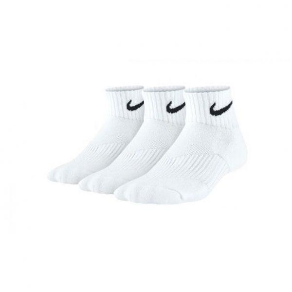 Skarpety bawełniane Nike 3-pack SX4722-101 Rozmiar XS: 30-34