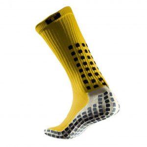 Skarpety piłkarskie Trusox Mid-Calf Cushion Żółte Rozmiar S: 34.5-38.5