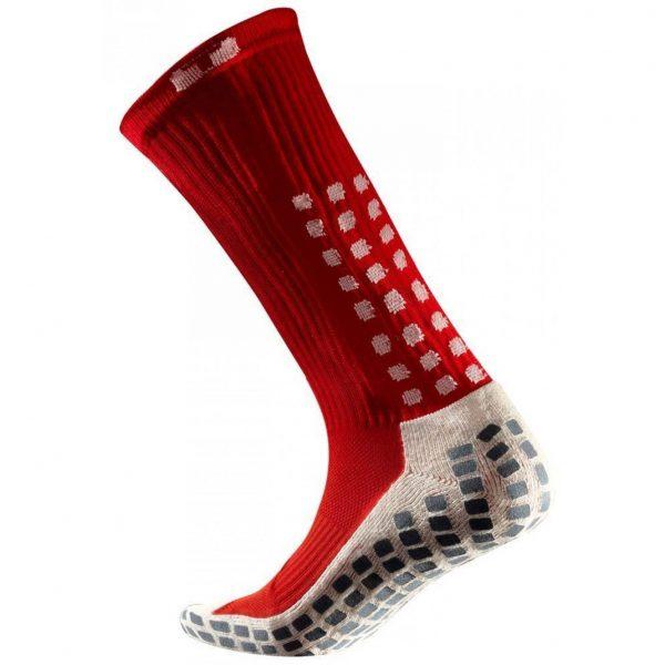 Skarpety piłkarskie Trusox Mid-Calf Cushion Czerwone Rozmiar S: 34.5-38.5