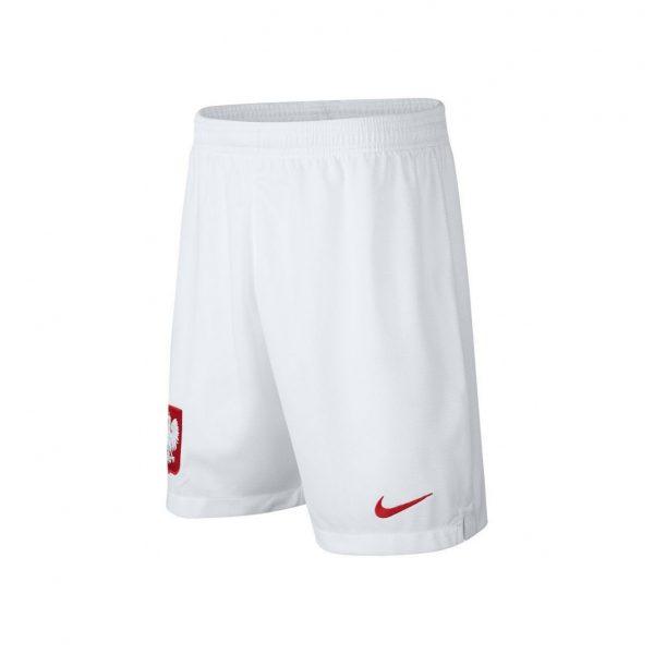 Spodenki Nike Junior Polska Stadium Home 894016-100 Rozmiar XS (122-128cm)