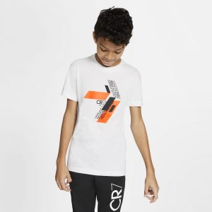 T-shirt Nike Junior CR7 CU9572-100 Rozmiar XS (122-128cm)