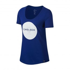 T-shirt damski Nike Chelsea Londyn Squad 915870-495 Rozmiar XS (158cm)